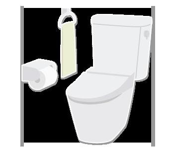 洋式トイレ取り替え・取り付け