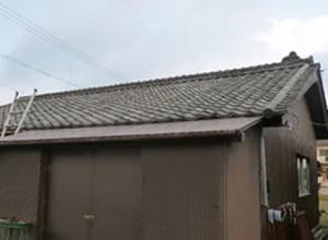 滋賀県湖南市M様邸太陽光発電施工前