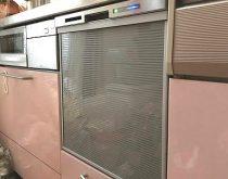 乾燥機能が故障したビルトイン食洗機を最新のビルトイン食洗機へ取り替え