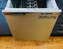 部品がなく修理ができないためビルトイン食器洗い乾燥機を新しく取り替え