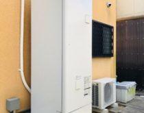 電気温水器からエコキュートへ取り替え