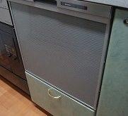 故障したビルトイン食洗機を最新型に取替え