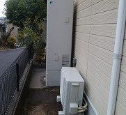 16年ご使用された電気温水器をエコキュートに取り替え!