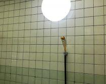 浴室照明をLED照明に取り替え