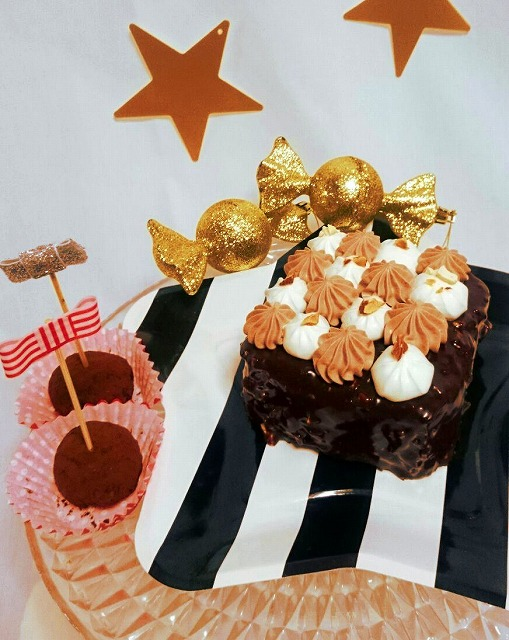 チョコレート♡パウンドデコレーション