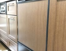 洗浄が出来なくなった食洗機を最新の食洗機(フロントオープン)へ取替え