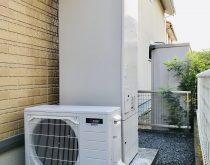 故障する前に電気温水器をエコキュートに取り替え
