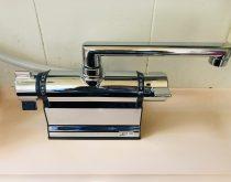 水漏れしていた浴室のデッキ型シャワー水栓を新しく取り替え