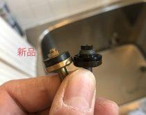 浴室水栓からのぽたぽた水漏れを修理
