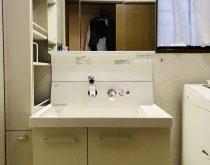 洗面ボウルが広くて使いやすい、LIXILのピアラへ取り替え