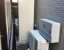 電気温水器からエコキュートへ取替え
