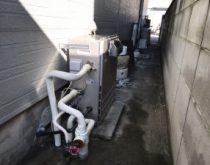 自動湯張り機能が故障した給湯器のお取り替え