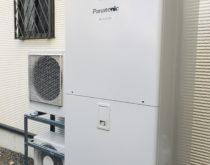 550Lの電気温水器から370Lのエコキュートへ取り替え