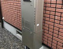 故障した熱源付給湯器を最新のエコジョーズへ取り替え