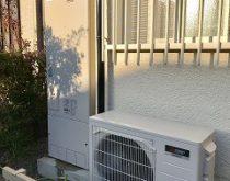 電気温水器からエコキュートに交換しました