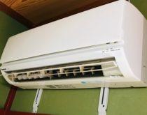 エアコンを別部屋へ移設工事