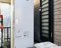 故障した給湯専用の電気温水器をフルオートタイプのエコキュートへ取り替え