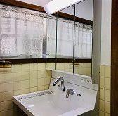 洗面化粧台の排水から水漏れをきっかけに新しく取り替えをさせていただきました
