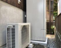 ガス給湯器からエコキュートへ取り替えてオール電化住宅へ