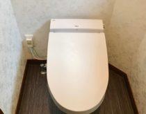 タンクレスで超節水トイレに取り替えました