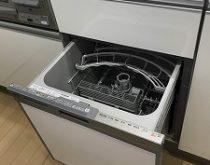システムキッチンの引き出しに、新しくビルトイン食器洗い乾燥機を取り付けました。【滋賀県栗東市】