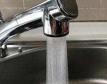 最新のシャワー式水栓へ取り替え