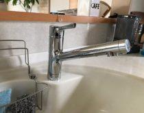 台所水栓を交換しました!