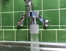 キッチンのシングルレバー水栓を新しく取り替えました