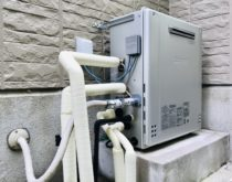 湯温にバラツキがあった給湯器をエコジョーズに、温度調整ができなくなった浴室シャワー水栓を新しく取り替えました
