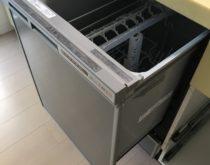 ミドルタイプのビルトイン食器洗い乾燥機をディープタイプのビルトイン食器洗い乾燥機へ取り替えました。