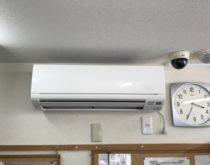 店舗にエアコンを新規で設置