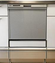 滋賀県大津市M様リンナイ食洗器RSW-404A-SV