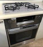ガスコンロ・ガスオーブンをパロマ製品に取り替えました