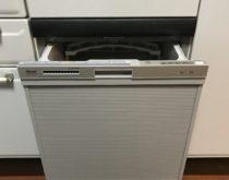 リンナイビルトイン食器洗い乾燥機にお取替え