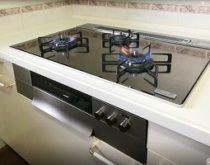 レンジフードとガスコンロを取替えてキッチン空間をイメージチェンジ