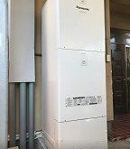 電気温水器からパワフル高圧タイプのエコキュートに取り替え