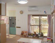1戸建ての1階を増築して家庭的保育施設を開業 ~ユカカラ暖房(温水床暖房)施工事例~
