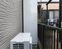 高温差し湯の電気温水器—>エコキュートにお取替え