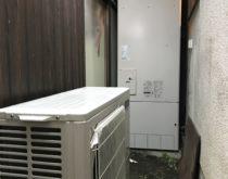 故障してしまった電気温水器からエコキュートへ取り替え、同時にIHクッキングヒーターも新しく取り替え