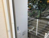 電気温水器からエコキュートに取り替えさせていただきました。
