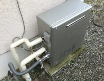 省エネガス給湯器のエコジョーズへお取り替え