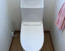 タンクに亀裂が入ってしまったトイレをTOTOのGGシリーズに新しく取り替え