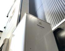 搬入経路が狭い場所での電気温水器からエコキュートへの取り替え工事