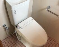 30年以上使用されたトイレを新しく交換
