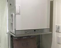 築3年のお家にガス衣類乾燥機「乾太くん」を新設しました