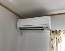 お子さんの部屋にエアコンを新設しました