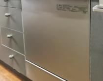 ナショナル食器洗い乾燥機からパナソニック食器洗い乾燥機に交換しました(NP-45MC6T)