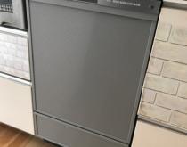 リンナイ製ビルトイン食器洗い乾燥機ミドルタイプからディープタイプへお取り替え