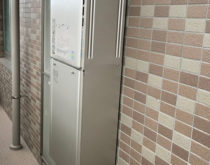 栗東駅前分譲マンションでガス給湯器(エコジョーズ)を交換しました