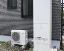 電気温水器からエコキュートへお取替えしました。